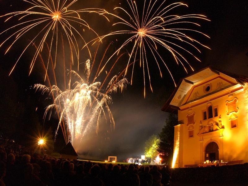 spectacles de son et lumière professionnel - feux d'artifice été - haute savoie - euro distribuion