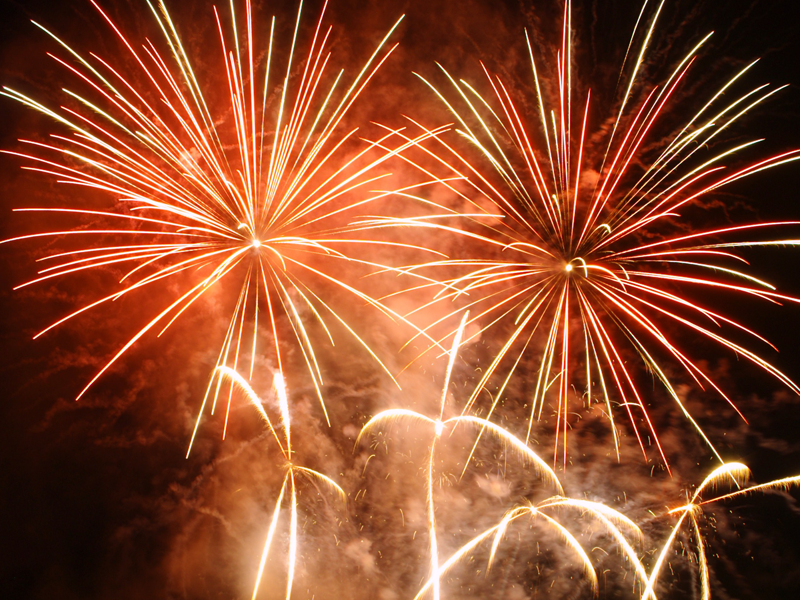 feux d'été - Rhone alpes - pyrotechnie professionnels -EUro Distribution - pyrotechnique -
