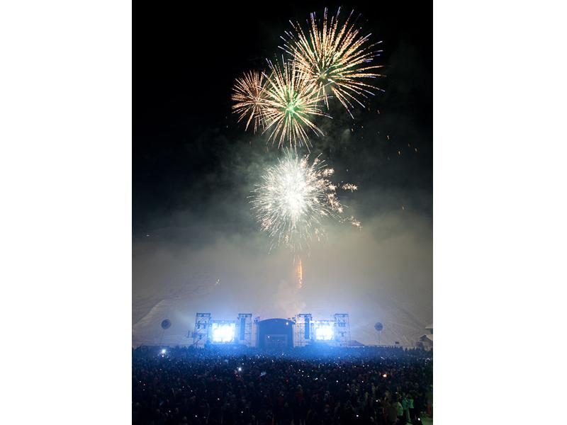 feux d'hiver - concert pyrotechnique - Euro Distribution 74 73