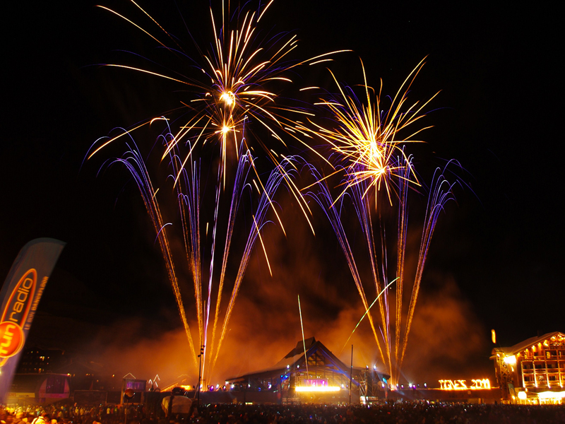 Euro distriburion - créateurs d'événement pyrotechnique - feux d'hiver - tigne hiver